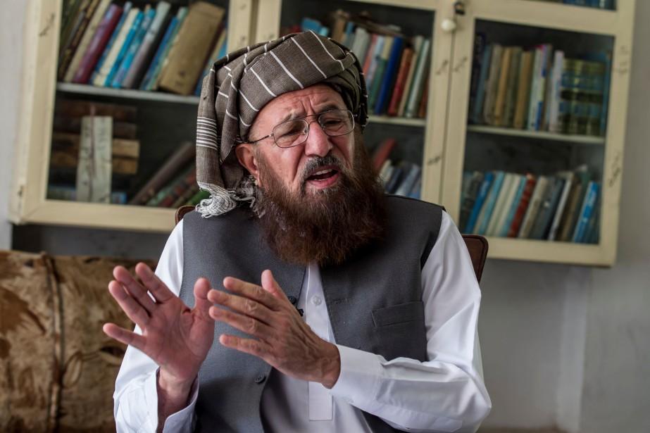 Sami ul-Haq faisait partie des négociateurs lors de... (Photo ZOHRA BENSEMRA, archives REUTERS)