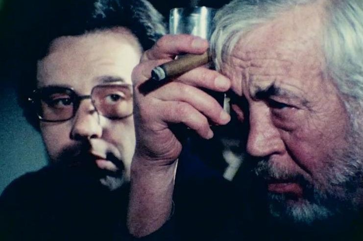 Peter Bogdanovich et John Huston dans The Other... (Photo fournie par Netflix)
