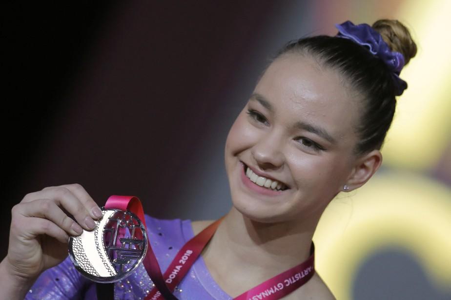 La gymnaste canadienne Shallon Olsen... (Photo Vadim Ghirda, Associated Press)