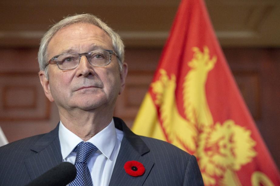 La lieutenante-gouverneure, Jocelyne Roy Vienneau, a officiellement demandé,... (PHOTO James West, LA PRESSE CANADIENNE)