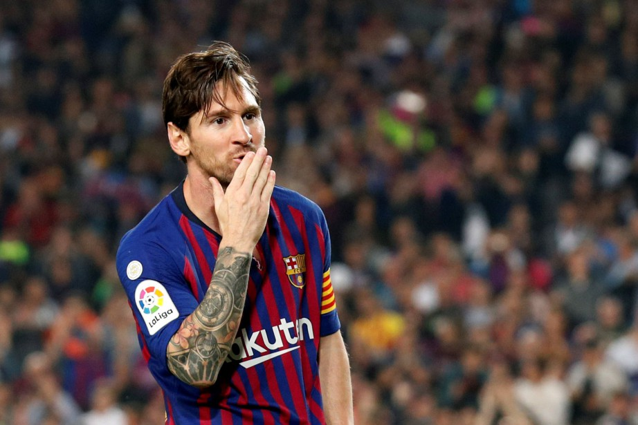 Lionel Messi... (Photo ALBERT GEA, REUTERS)