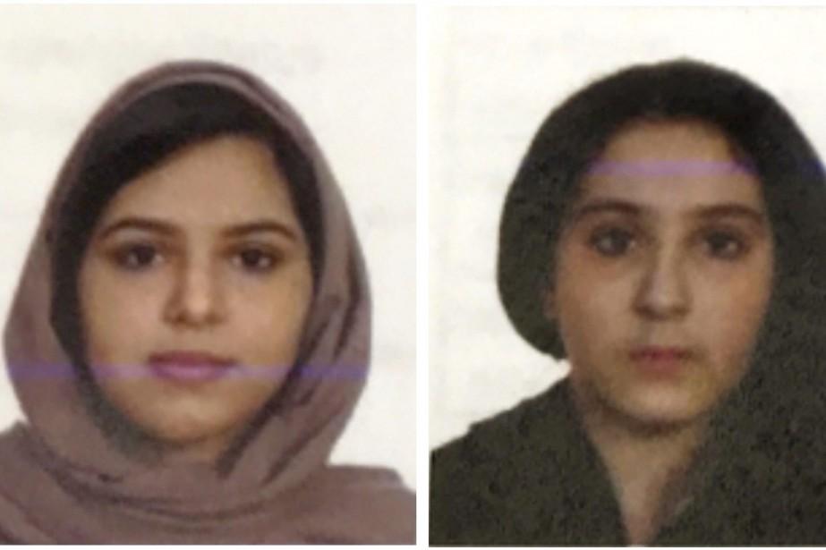 Les deux soeurs, Tala et Rotana Farea, âgées... (PHOTO AP)