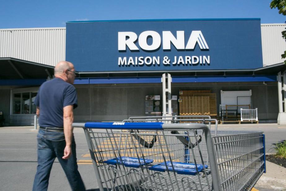 Le Québec perdra neuf magasins Rona et une... (PHOTO MARTIN TREMBLAY, ARCHIVES LA PRESSE)