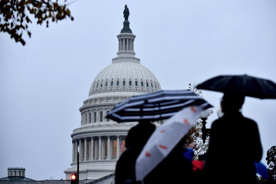 Le Capitole à Washington, 6 novembre 2018.... (AFP)
