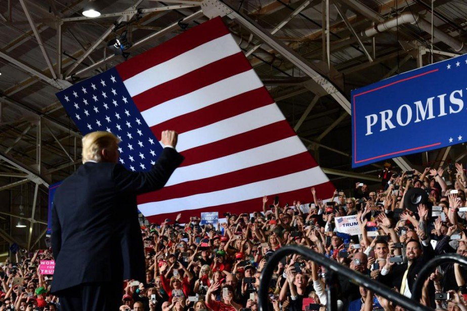 Si Donald Trump songe à se présenter pour... (PhotoNicholas Kamm, Agence France-Presse)