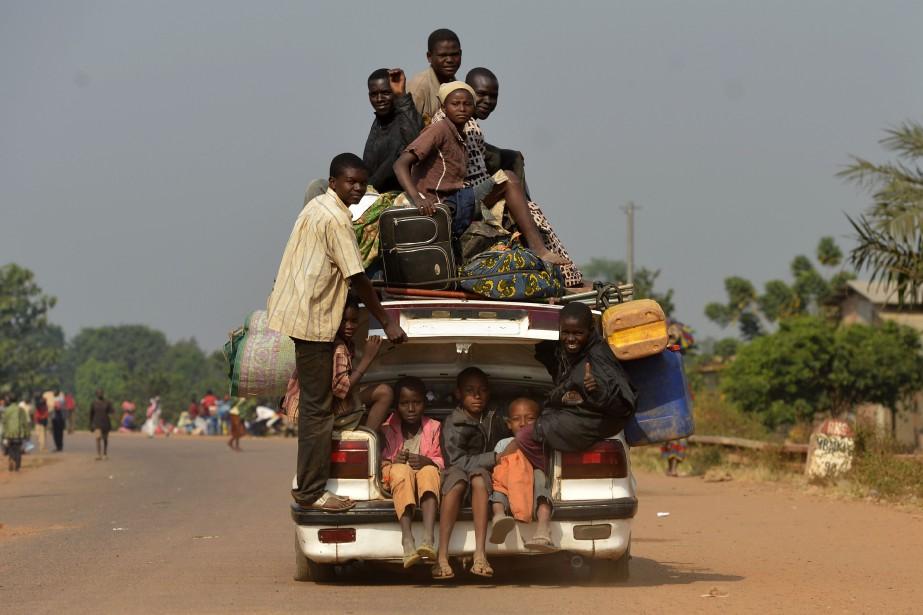 Une étude sur la sécurité alimentaire en Centrafrique... (Photo MIGUEL MEDINA, archives Agence France-Presse)