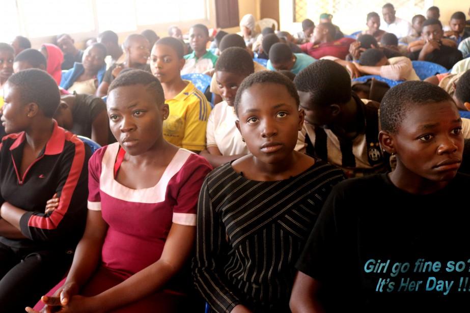 Les élèves, qui sont âgés de 11 à... (Photo Reuters)