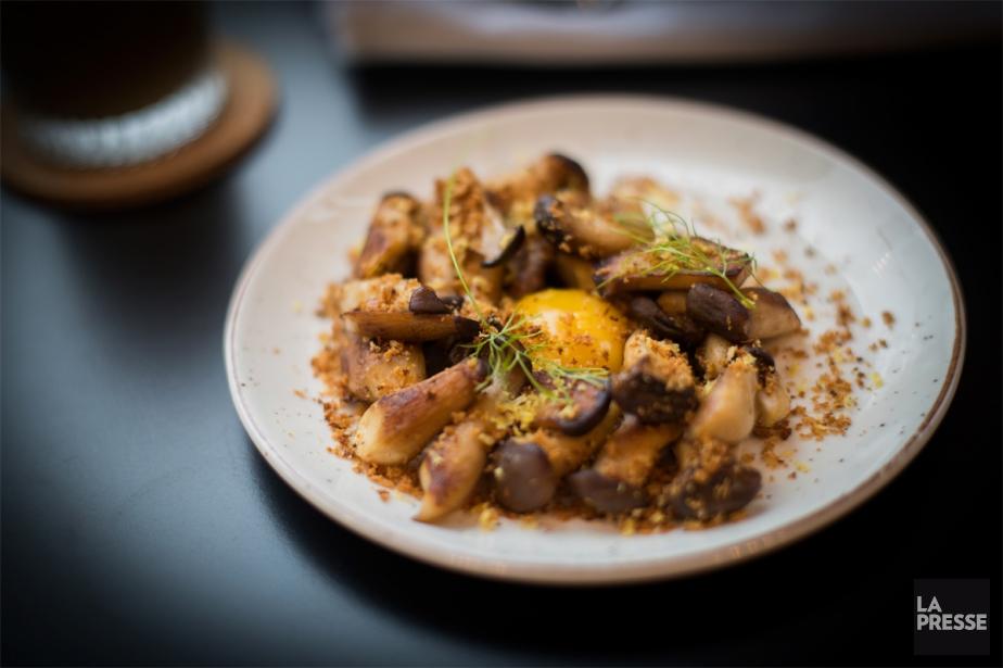 Un plat de saison mettant en vedette les... (PHOTO OLIVIER JEAN, LA PRESSE)