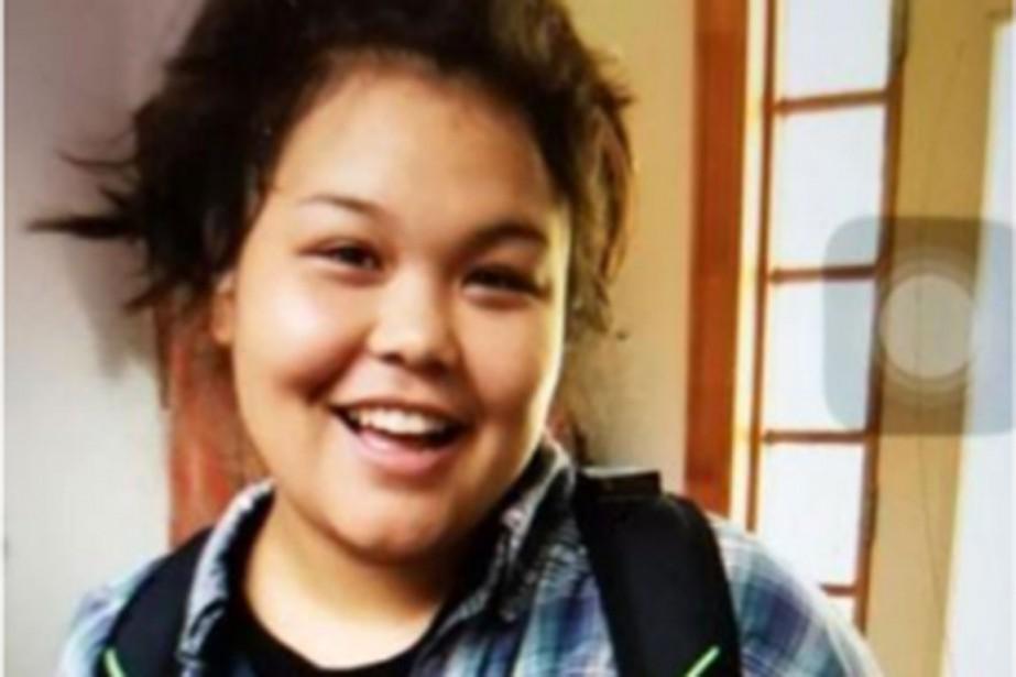 Jasmyn Jarrett, une jeune femme d'origine autochtone, a... (Photo fournie par le Service de police de la MRC des Collines-de-l'Outaouais)