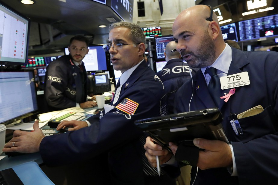 La Bourse de New York a fini... (Photo Richard Drew, archives Associated Press)