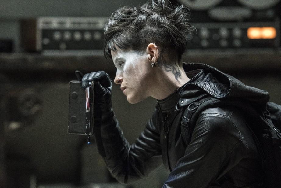 Claire Foy dans une scène du film The... (Photo Sony Pictures)
