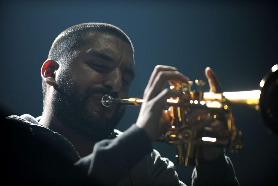Le trompettiste franco-libanais Ibrahim Maalouf sera jugé vendredi... (Photo GUILLAUME SOUVANT, archives AFP)