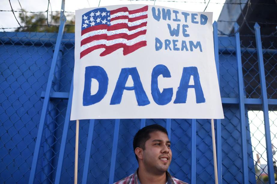 Le programme DACA a protégé environ 700000 personnes... (Photo ROBYN BECK, archives Agence France-Presse)