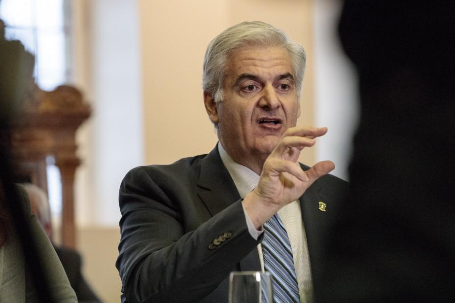 Beny Masella, maire de Montréal-Ouest et président de... (Photo Hugo-Sébastien Aubert, archives La Presse)