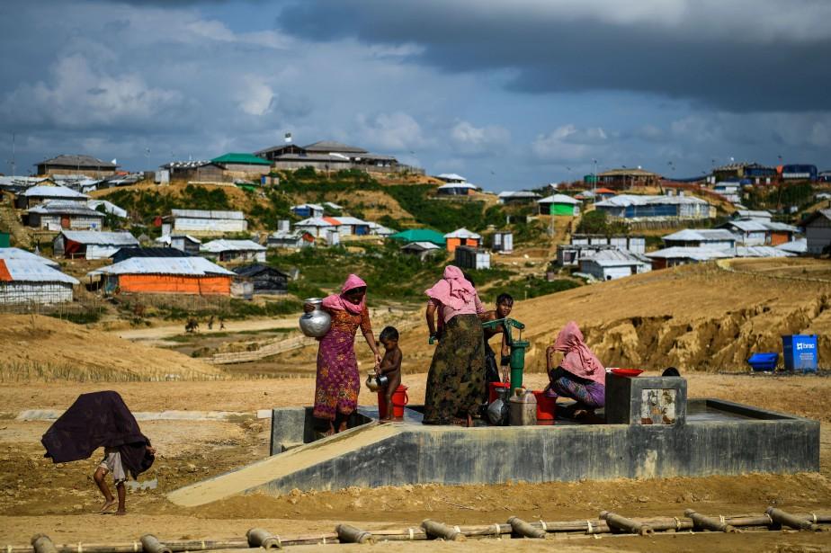 Les réfugiés craignent notamment d'être forcés à rejoindre... (Photo CHANDAN KHANNA, archives AFP)