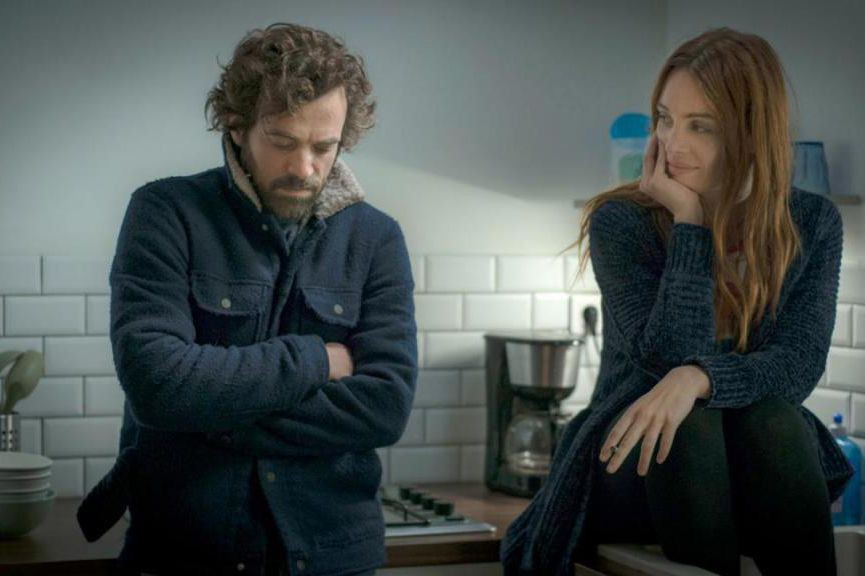 Romain Duris et Laetitia Dosch dans Nos batailles,... (Image fournie par Axia Films)
