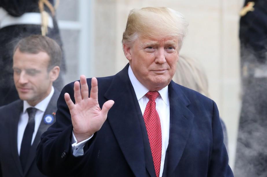 Le président Donald Trump aurait manqué une occasion... (Photo LUDOVIC MARIN, AFP)