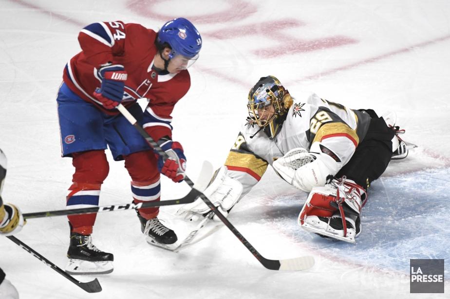 Le Canadien affronte les Golden Knights de Vegas.... (PHOTO BERNARD BRAULT, LA PRESSE)