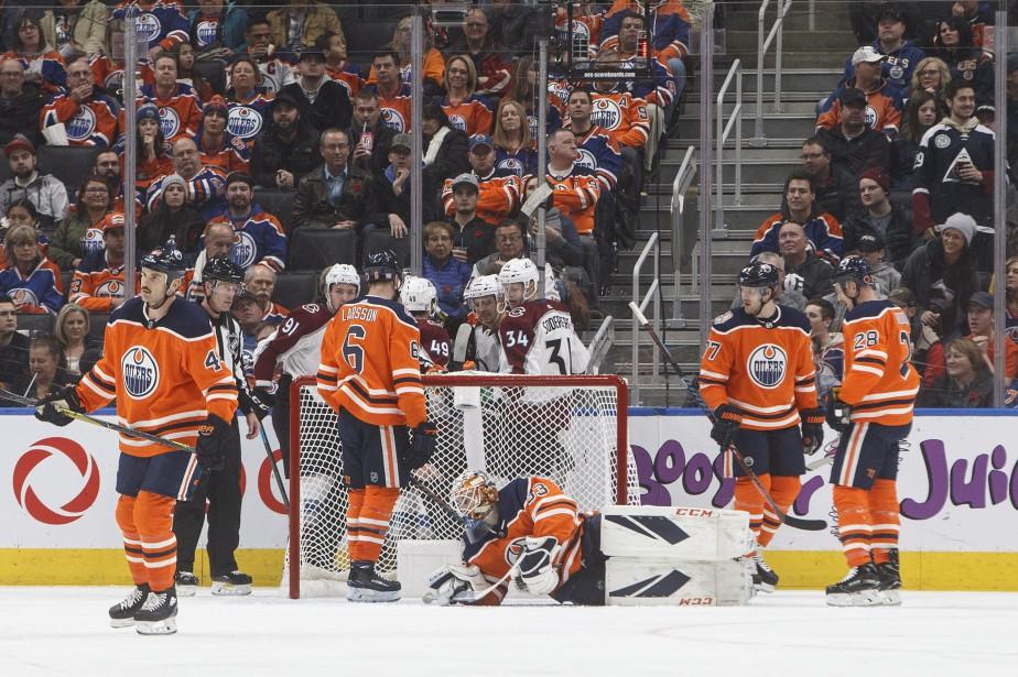 Les Oilers d'Edmonton viennent de perdre quatre matchs... (Photo Jason Franson, La Presse canadienne)