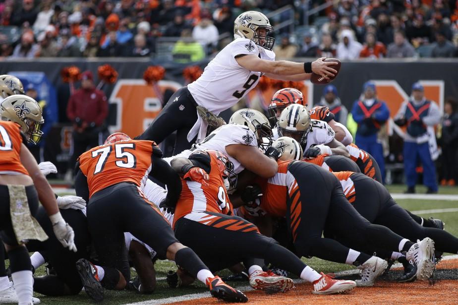Les Bengals de Cincinnati ont subi une défaite... (Photo Gary Landers, Associated Press)