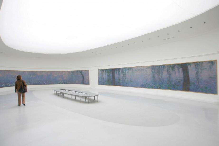 Les Nymphéas de Claude Monet... (Photo JACQUES DEMARTHON, archives AFP)
