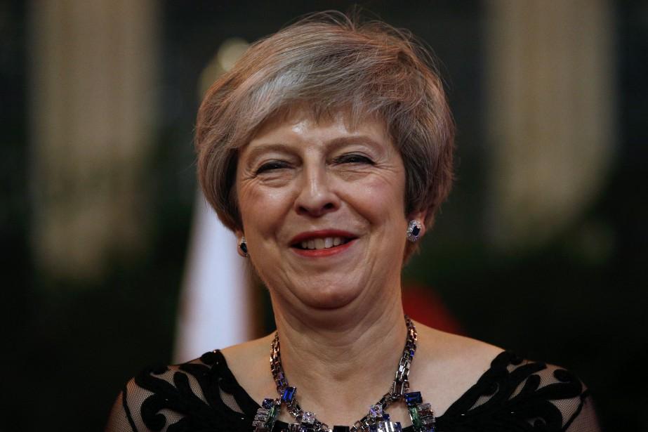 Theresa May a qualifié d'«immensément difficiles» ces discussions,... (Photo HENRY NICHOLLS, REUTERS)