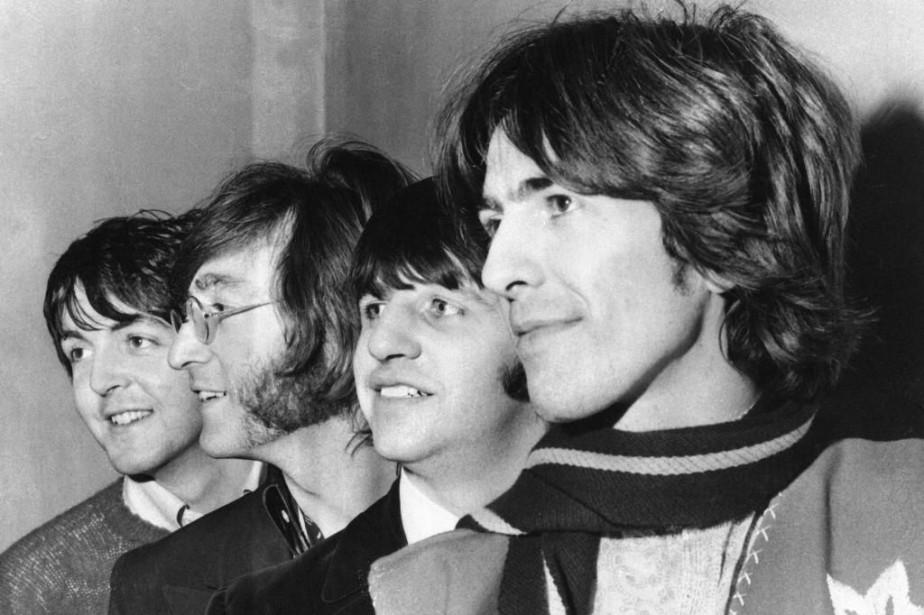 Paul McCartney, John Lennon, Ringo Starr et George... (Photo archives Associated Press)