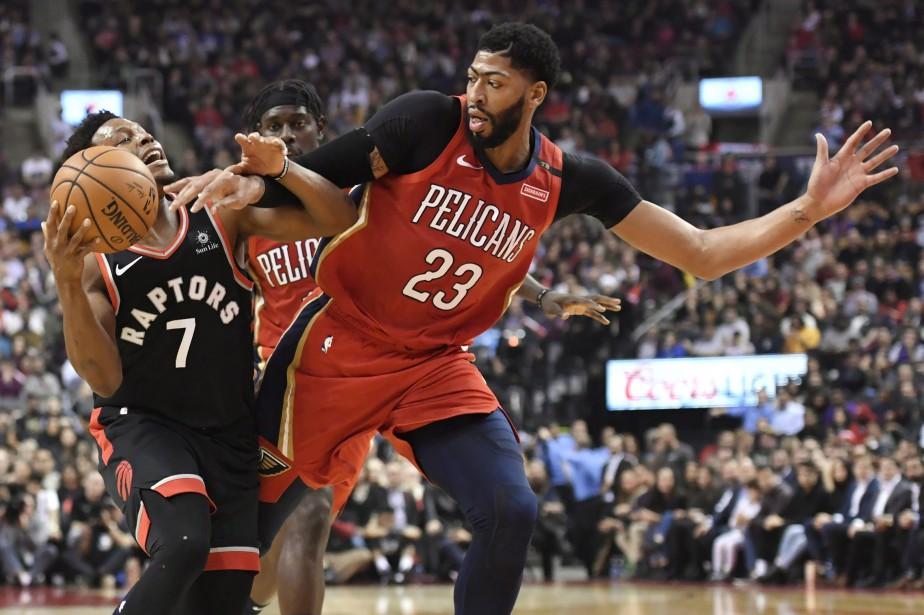 Les Raptors avaient remporté leurs sept affrontements précédents... (PHOTO PC)