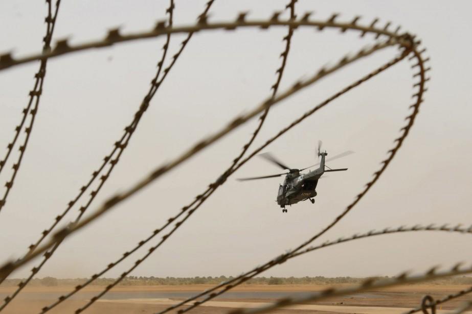 Au Mali, le contingent canadien a pris le... (PHOTO PC)
