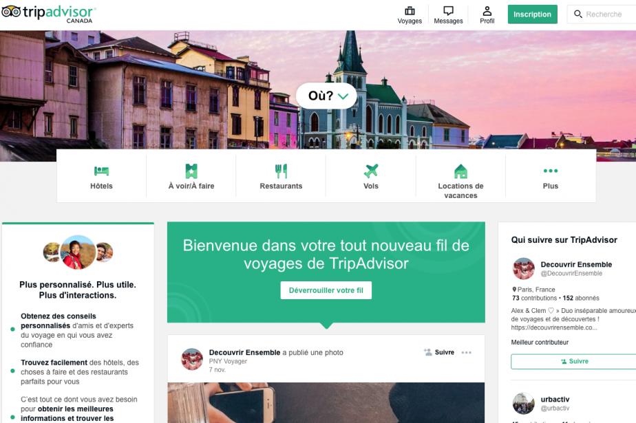 Le site de référencement touristique TripAdvisor veut devenir le réseau social...