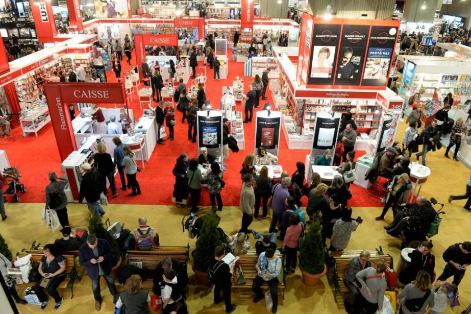 Le Salon du livre de Montréala attiré 119000visiteurs... (Photo Bernard Brault, Archives La Presse)