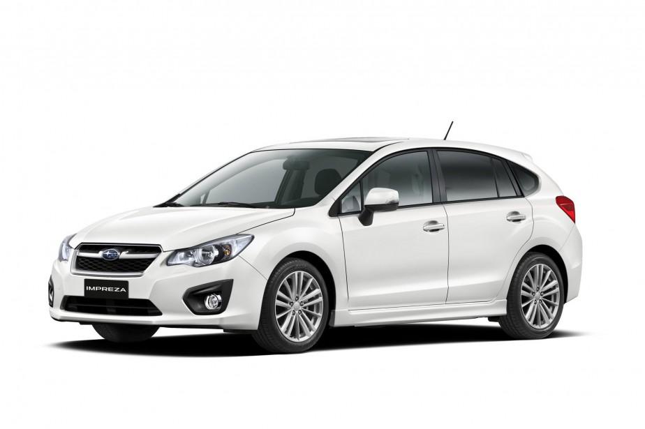 L'Impreza 2012 est l'un des modèles de Subaru... (Photo fournie par Subaru)