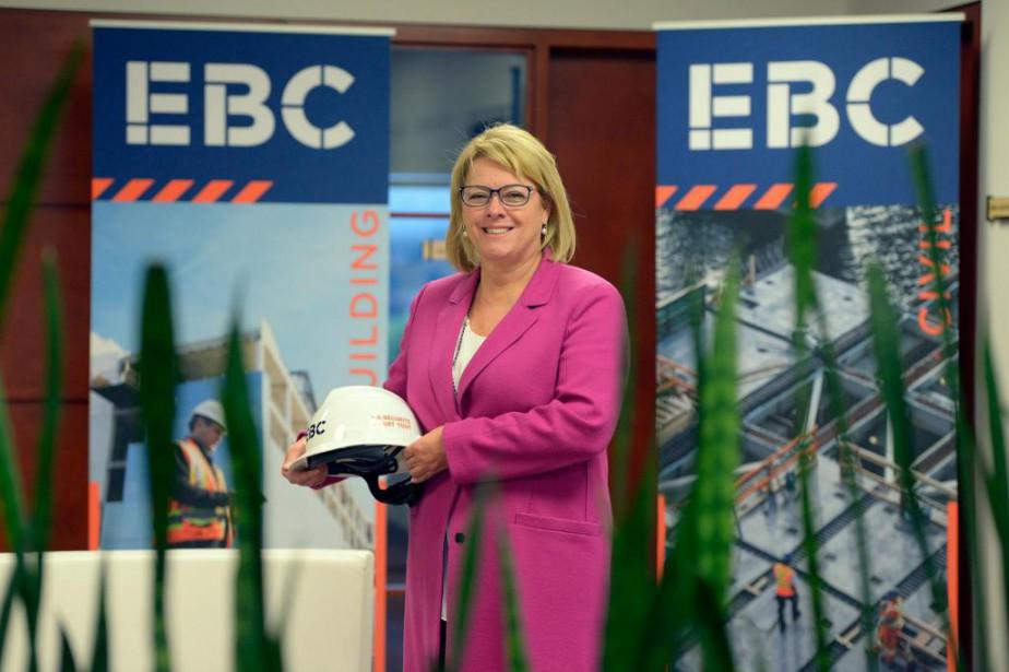 Marie-Claude Houle, PDG d'EBC inc.... (Photo Pascal Ratthé, Le Soleil)