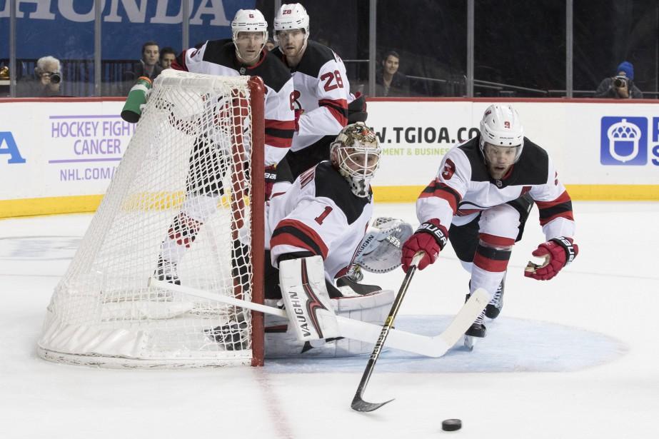 Les Devils du New Jersey occupent présentement le... (Photo Mary Altaffer, Associated Press)