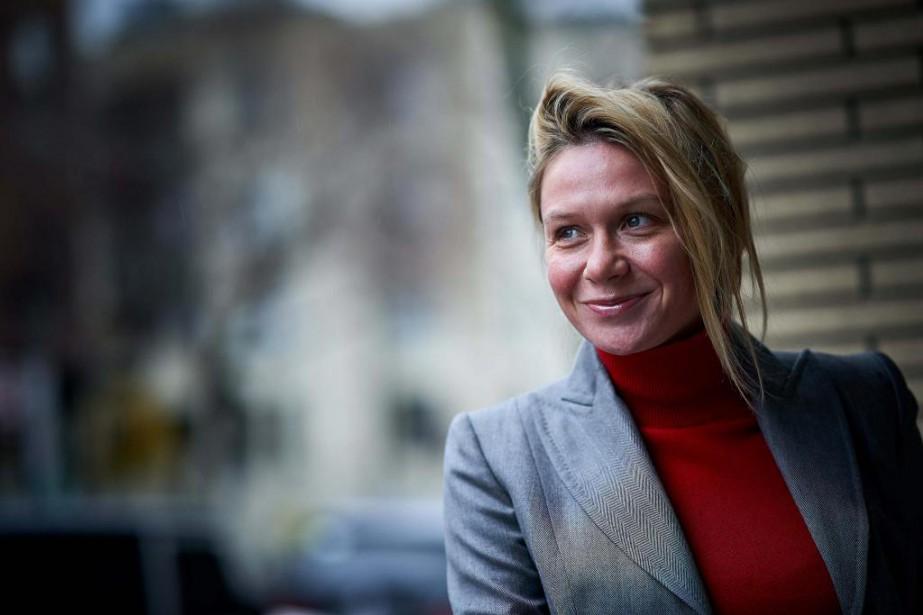 Meredith Erickson, cosignataire deJoe Beef- Survivre à l'apocalypse... (Photo André Pichette, La Presse)