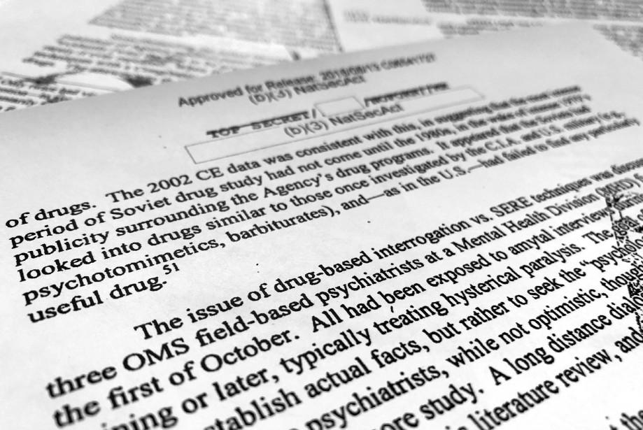 Le document déclassifié de 90 pages permet de... (PHOTO AP)