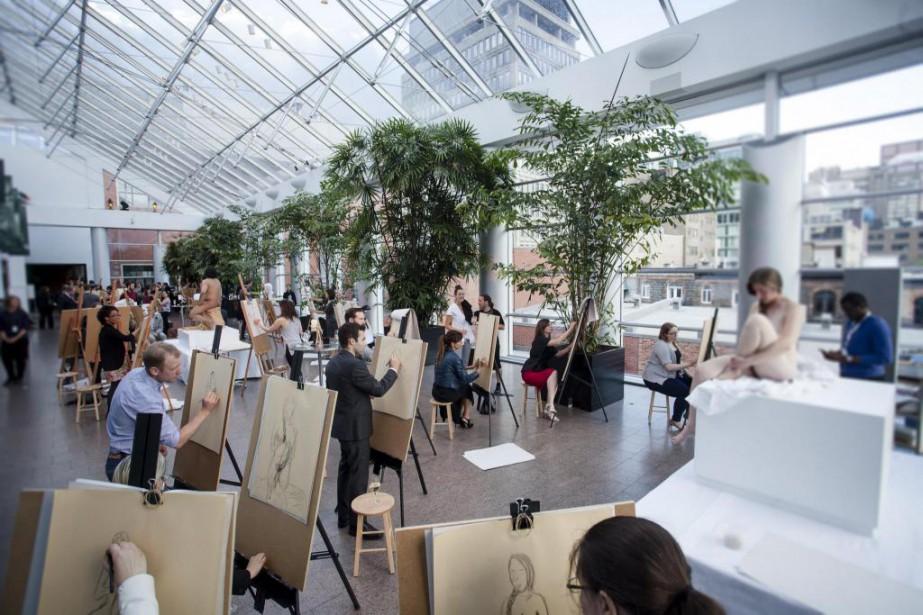 Le Cercle des jeunes philanthropes du Musée des... (PHOTO FOURNIE PAR LE MUSÉE DES BEAUX-ARTS DE MONTRÉAL)