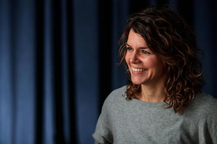 La réalisatrice Catherine Hébert... (PHOTO HUGO-SÉBASTIEN AUBERT, LA PRESSE)