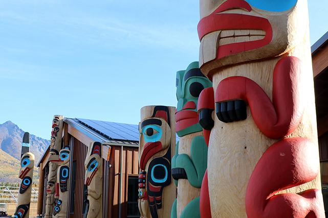 Le Carcross Learning Centre présente l'art, la culture et l'histoire de la communauté des Tlingits et des Tagish. | 15 novembre 2018