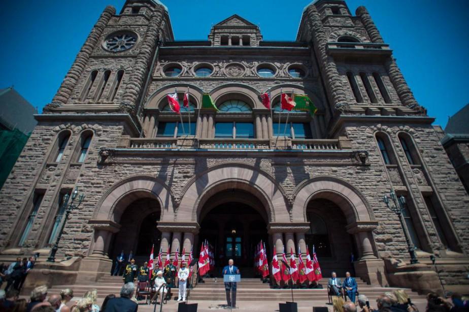 Le premier ministre de l'Ontario, Doug Ford, a... (PHOTO TIJANA MARTIN, ARCHIVES LA PRESSE CANADIENNE)