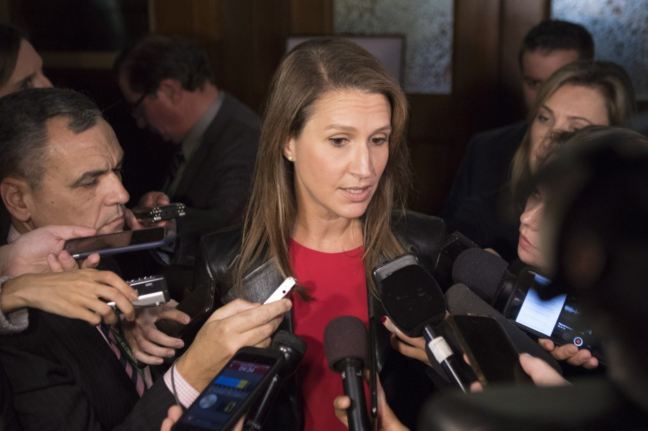 Caroline Mulroney a clairement fait savoir que le gouvernement... (Photo Chris Young, La Presse canadienne)