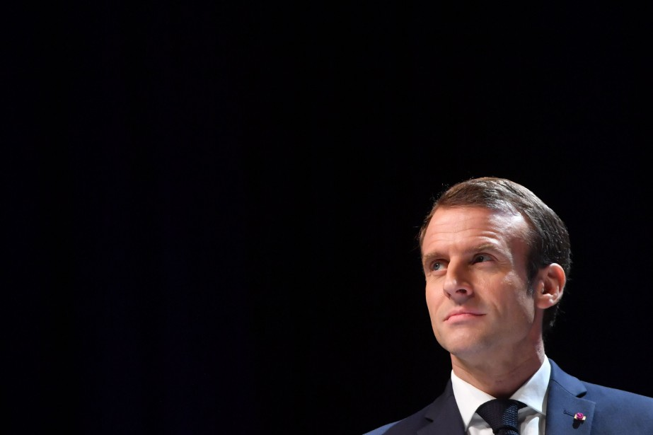 Le président français Emmanuel Macron... (Photo EMMANUEL DUNAND, AFP)