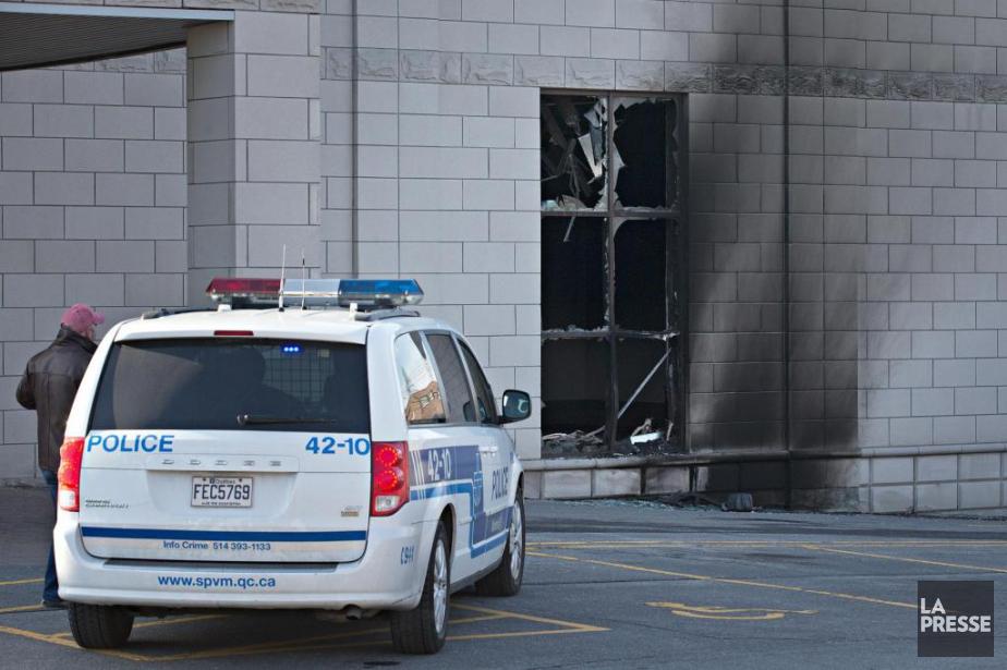 Un incendie criminel a été commis le 25... (PHOTO PATRICK SANFAÇON, ARCHIVES LA PRESSE)