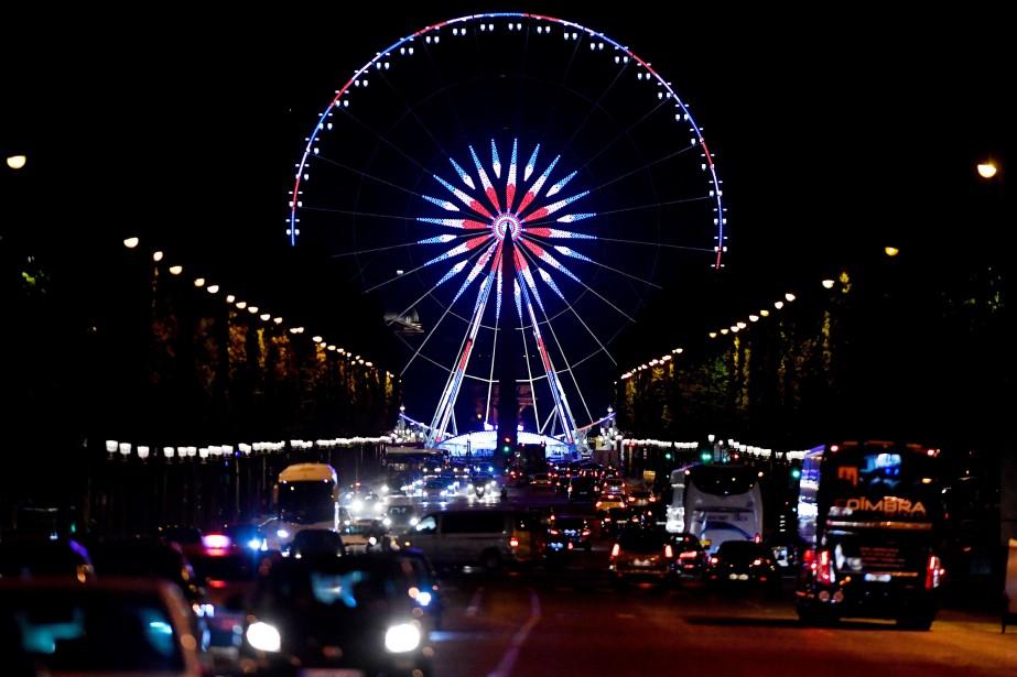 La grande roue de la Place de la... (Photo GERARD JULIEN, archives AFP)