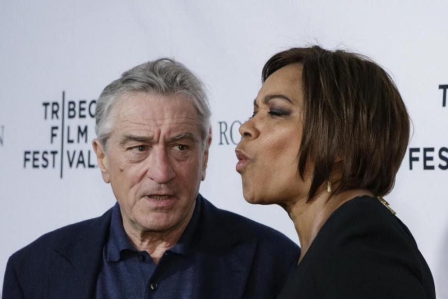Robert De Niro et Grace Hightower... (Photo KENA BETANCUR, archives Agence France-Presse)