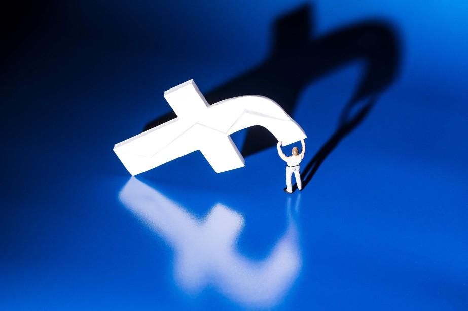 L'accord passé avec Facebook vise à «mettre un... (Photo JOEL SAGET, archives Agence France-Presse)