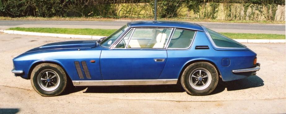 La Jensen Interceptor FF 1970, une supervoiture à quatre roues motrices mue par un V8 de 6,2 litres. (Photo Francis Cummen, Wikimedia)
