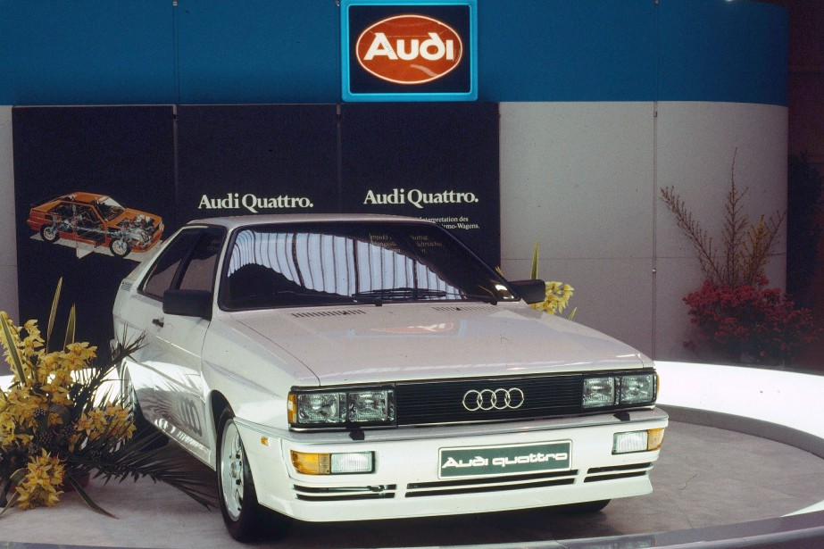 1980: five-cylinder gasoline engine with turbocharger and intercooler:...