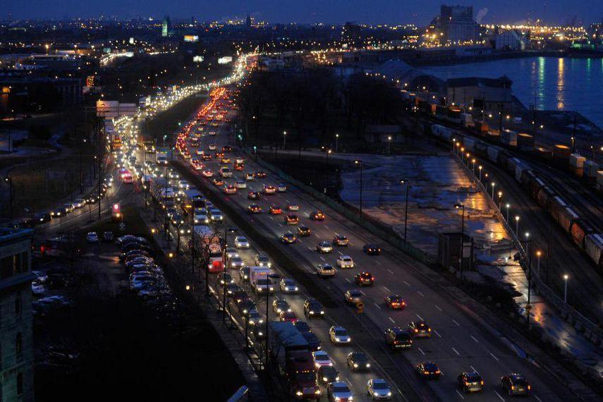 Le Réseau express métropolitain (REM) pourrait être la... (Photo Bernard Brault, Archives La Presse)