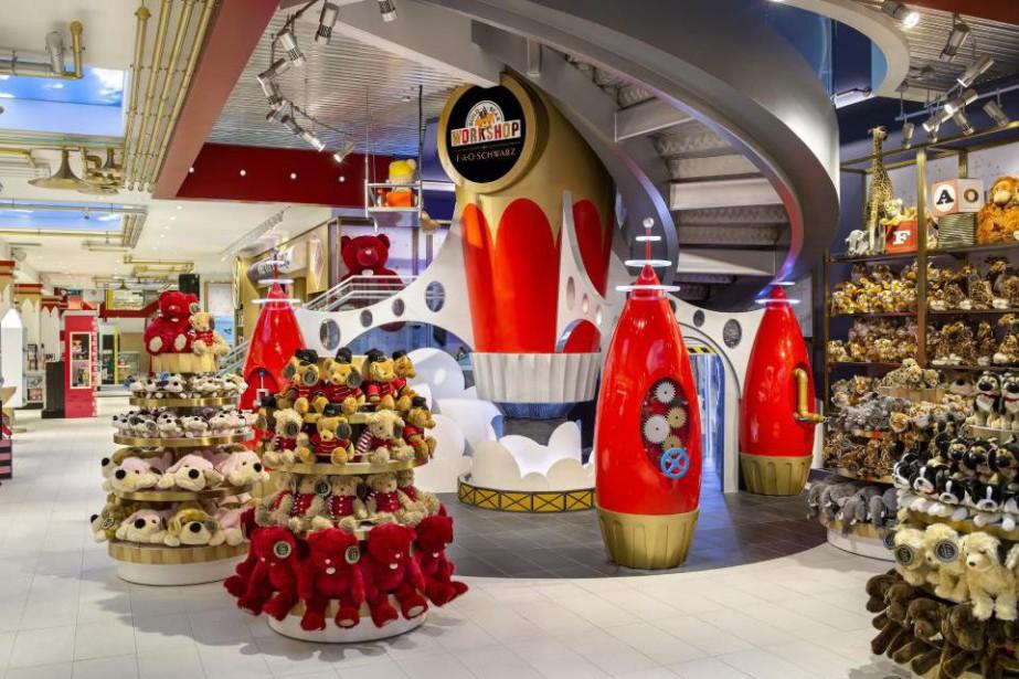 La célèbre boutique new-yorkaise de jouets FAO Schwarz... (Photo Richard Cadan, fournie par FAO Schwarz)